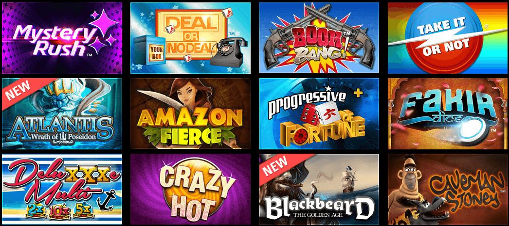Circus Online Casino Games