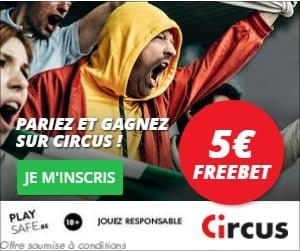 Bonus Circus Paris Sportifs